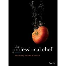 The Professional Chef Hardcover by CIA 9th edition and james peterson sauce book