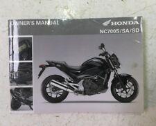 HONDA NC700 S OWNER'S MANUAL 2011 (JR) HB23