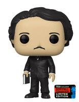 Pop Icons Edgar Allan Poe with Book Pop! Vinyl Figure NYCC 2019 Exclusive #22