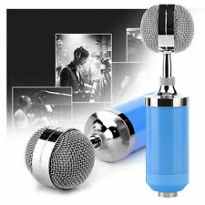 Condenser Microphone With Pop Filter Sound Kit Broadcasting Recording Game