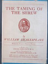 1909 Taming of the Shrew by William Shakespeare Hardcover Book Classic