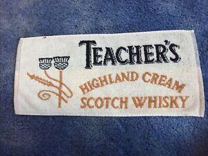 TEACHER'S HIGHLAND CREAM SCOTCH WHISKY - BAR TOWEL
