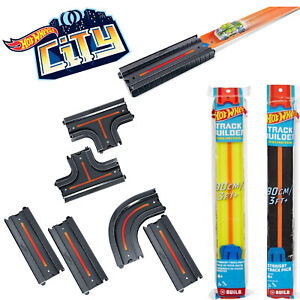 HOT WHEELS ACTION CITY TRACK 2-PACK STRAIGHT INTERSECTION CURVED PLAYSETS MATTEL
