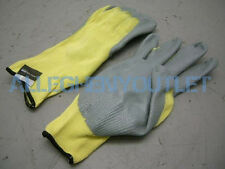 2 Pair 100% Kevlar CUT RESISTANT Nitrile Coated Palm Work Gloves XXL 2XL NEW