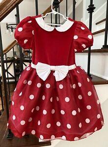 Minnie Mouse Girls Dress size 5-6