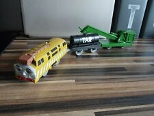 Thomas Trackmaster DIESEL 10 TRAIN WITH OIL + BREAKDOWN battery operated VGC