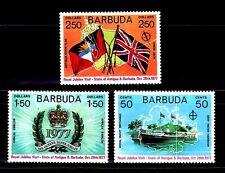 SELLOS BARCOS BARBUDA 1977 325/27 3v.