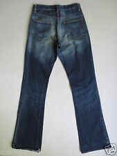 CULT colpo JEANS energia New Morrison ZIP FLY 28 dark blue used/m117