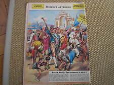 NAPOLI PROMOSSA IN SERIE A DOMENICA DEL CORRIERE #27 1965 COVER WALTER MOLINO