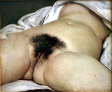 GUSTAVE GOURBET THE ORIGIN OF WORLD ROMANTICISM GICLEE PRINT FINE CANVAS