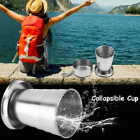 60/150/250ml&3-4-6-Folding Retractable Folding Cup Telescopic Collapsible Travel