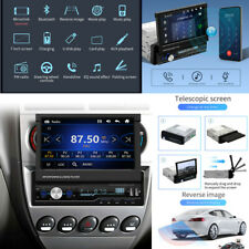 """1Din 7"""" Android GPS Flip Car Stereo Radio MP5 Player Touch Screen USB Mirrorlink"""