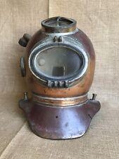 Vintage WWII Deep Sea Diving Helmet UK Navy SIEBE GORMAN MINE CLEARANCE Original