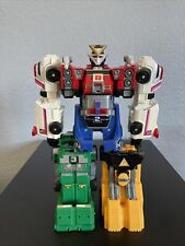 Power Rangers Turbo Rescue Megazord Double Morphin Bandai 1997 Deluxe
