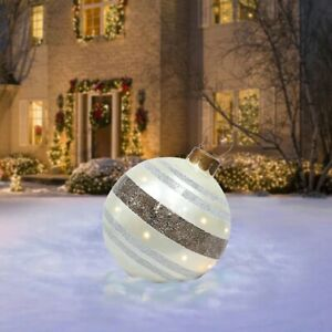 1PC Large Christmas Decorations Balls For Tree Outdoor Home Xmas Gift Ball