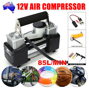 Portable 12V Car Air Compressor Tire Pump Tyre Inflator Auto 150 PSI HEAVY DUTY