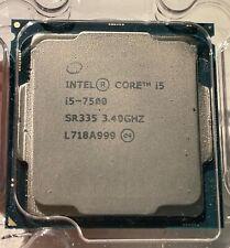 New listing Intel Core i5-7500 - 3.4 Ghz Quad-Core (Sr335) Processor