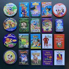 Lot of 20 Vintage Disney Movie Button Pins Advertising Promotional Pinbacks 90s