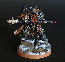 Pro painted Warhammer 40k Space Wolves Njal Stormcaller miniature