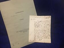 New ListingExtremely Rare Autograph Letter Signed -Richard Penn, Governor Pennsylvania 1772