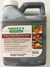 Monty's 16 oz Fruit and Vegetable 4-5-2 Liquid Plant Food Flower Fertilizer