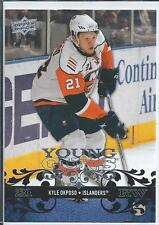 Kyle Okposo  08/09 Upper Deck #229  Young Guns SP RC