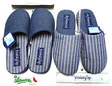 OFFERTA DeFonseca 45/46 ciabatte pantofole uomo Numeri Grandi cotone Button65
