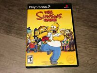 The Simpsons Game PlayStation 2 PS2 Complete CIB Authentic