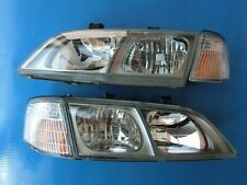 JDM 96-2001 Nissan Primera P11 G20 Crystal Glasses Headlights Head Lights Lamp
