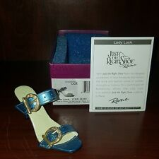 """Just The Right Shoe """"Lady Luck� #25455 By Raine 2003"""