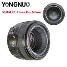 YONGNUO YN EF 50mm f/1.8 AF Lens YN50 Aperture Auto Focus for Nikon D810 Cameras