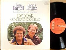 RCA RED SEAL Dvorak LYNN HARRELL Concerto for Cello LEVINE Shrink ARL1-1155