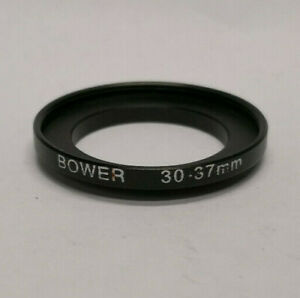 Quality Metal Bower 30mm to 37mm Camera Filter Step Up Ring 30-37mm Japan