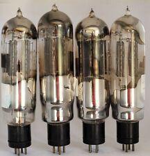 4x Klangfilm dual triode monoplate tube - Probably Radio fotos Grammont (RV258)