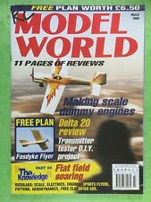 RC Model World - Radio Controlled Aircraft, March 2000 - Free Plan Fosdyke Flyer