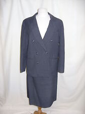 """Ladies Skirt Suit Murray Brothers UK 14 Waist 32"""" Chest 40"""" grey 0114"""