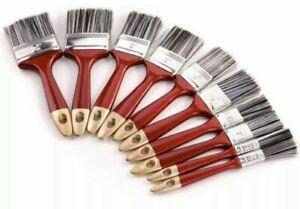 10PCS Paint Brush Fine Brushes Set Advanced Bristles Decorating DIY Painting UK