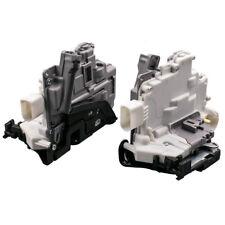 Pair Front Left/Right Door Lock Latch For Audi Q7 A4 Q5 A5 Fit VW Passat TOUAREG