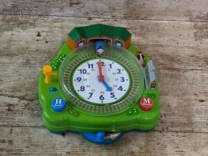 Vintage Tomy 2005 Thomas & Friends Teaching Tell The Time Musical Clock Toy