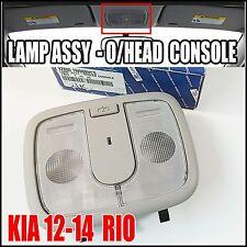 KIA 2012 2013 2014 RIO  Overhead Console Lamp  Genuine 92800-1W000HCS