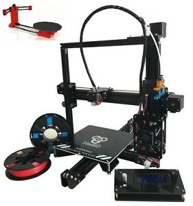 HE3D EI3 Prusa I3 Single Extruder Auto Level 3D Printer+Ciclop Scanner DIY Kit