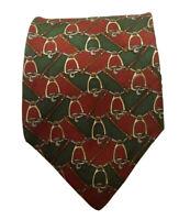 Sutter & Grant Men's Geometric Silk Skinny Designer Necktie Tie, NWOT