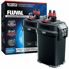 Fluval 307 External Power Filter Includes Media Aquarium Fish Tank Replaces 306