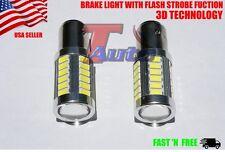 BAY15D,1157,Tail Stop Brake (STROBE),turn,parking, LED Light Bulb 12V 7528US 2PC