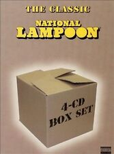 The Classic National Lampoon Box Set [Box] [PA] * by National Lampoon (CD,...