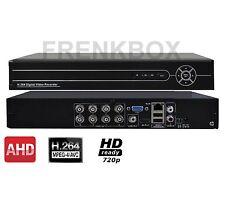 Registratore videosorveglianza Dvr 8 canali AHD 960H 720p Hdmi Lan internet Vga