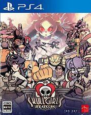 Usé PS4 PLAYSTATION 4 Tête de Mort Fille 2nd Encore 50132 Japon Import