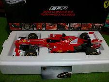 F1 FERRARI F138 2013 CHINESE GP ALONSO # 3 Formule 1 HOT WHEELS ELITE 1/18 BCT82