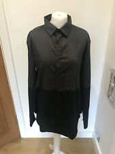 Gorgeous Cora Kemperman Brown Grey & Black Long Sleeve Shirt Size XL Worm Twice