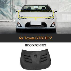 Carbon Motorhaube Haube Bonnet Hood Passt für Toyota GT86 17-20 Subaru BRZ 13-20